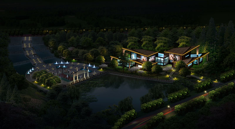 Sichuan nanbu county exposition osmanthus square garden for Sichuan cendes architectural design company limited