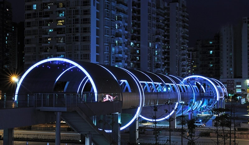 Lighting design project for urban road industry news shenzhen suoshi